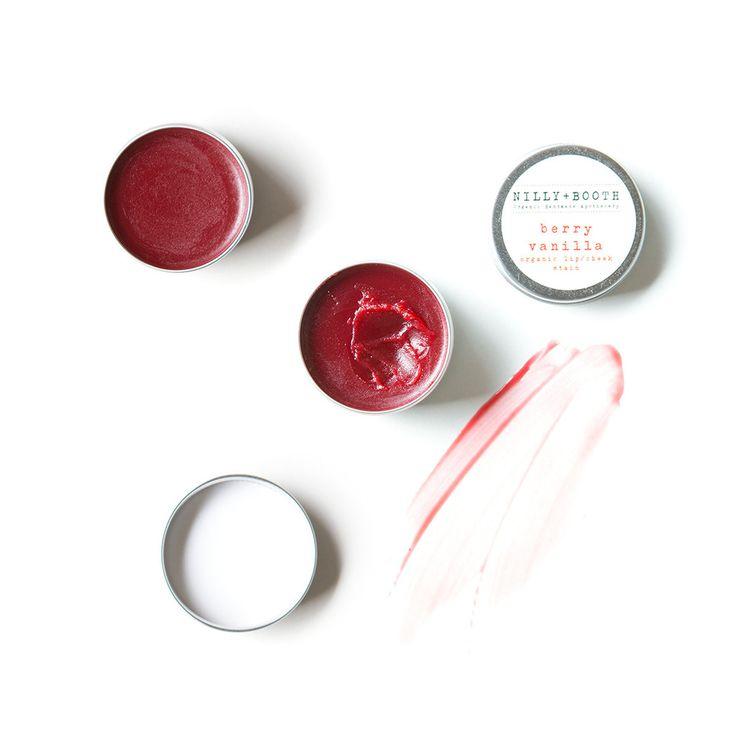 Nilly + Booth - Berry Vanilla Organic Lip/Cheek Stain