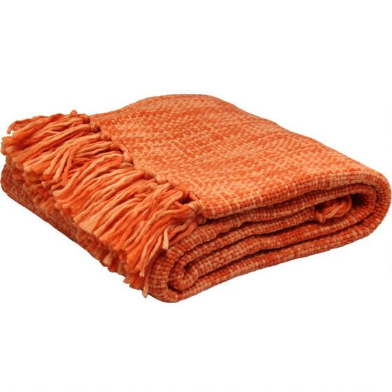 Adeline Throw - Tangerine For the sectional