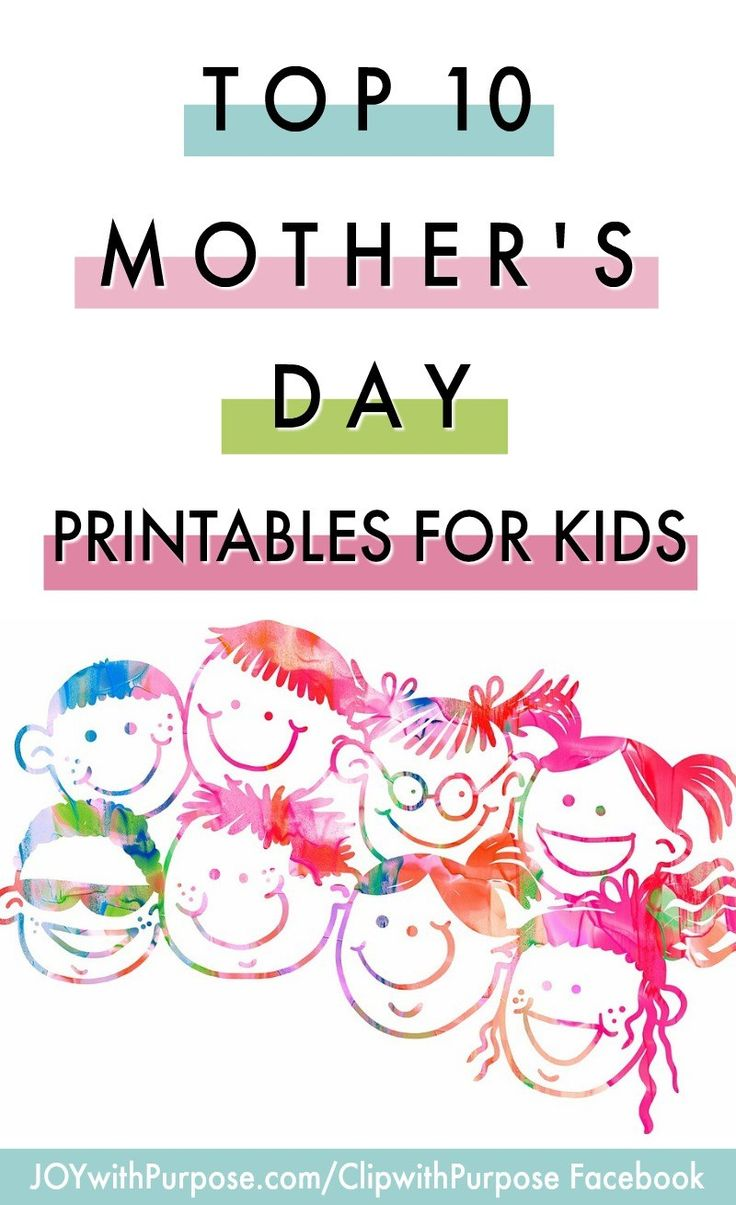 Mothers day bible coloring pages - Top 10 Free Mother S Day Printables For Kids
