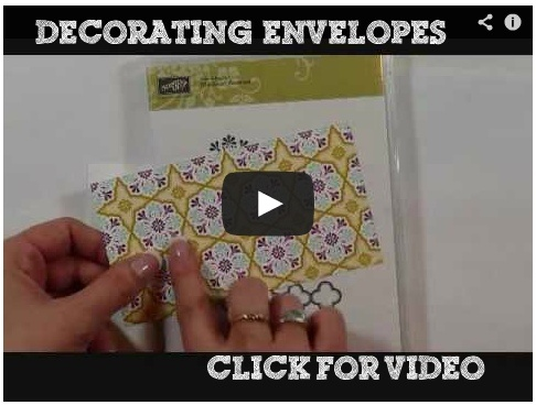 No envelopes should be naked! Learn fun and easy way's to make them PRETTY!