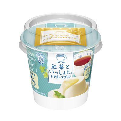 紅茶といっしょに。レアチーズプリン - 食@新製品 - 『新製品』から食の今と明日を見る!