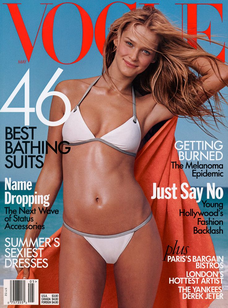 Dress for the beach like a Vogue cover girl. Get the look on Vogue.com.