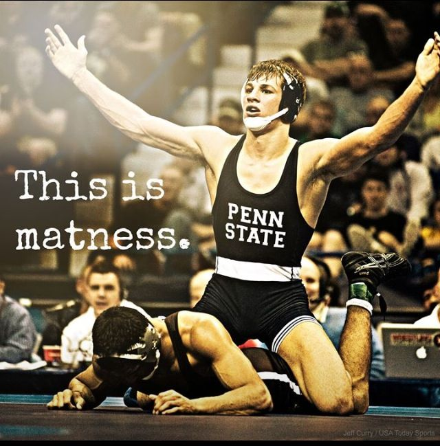 "David Taylor Penn State Wrestling 2014 NCAA    This is my March ""Matness"""