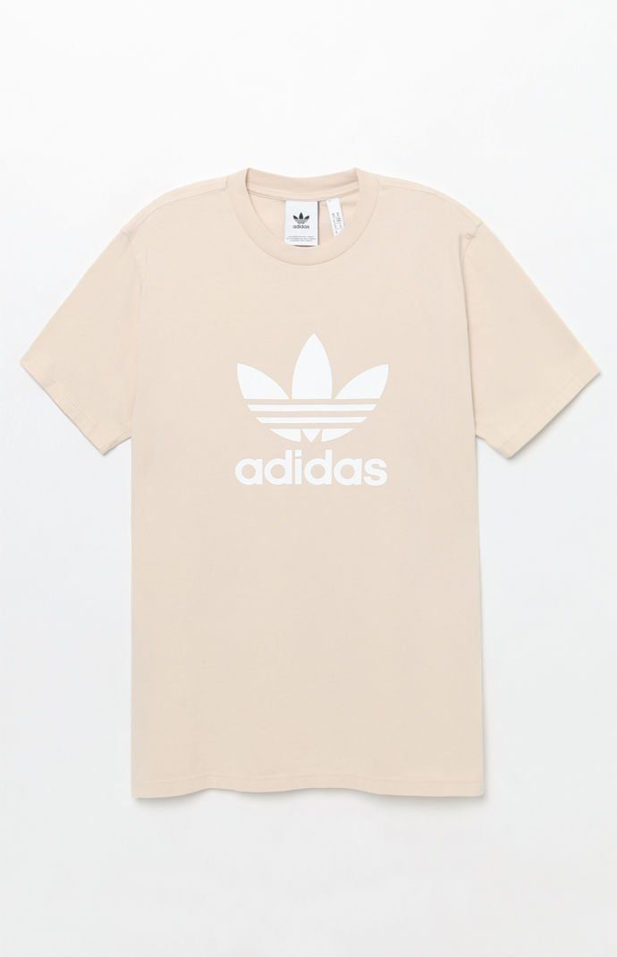 17d1ef19 adidas Trefoil Off White T-Shirt at PacSun.com | T-Shirts - Funny ...