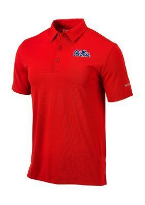 Outdoor Custom Sportswear Men's Ole Miss Drive Polo - Intense Red - 2Xl