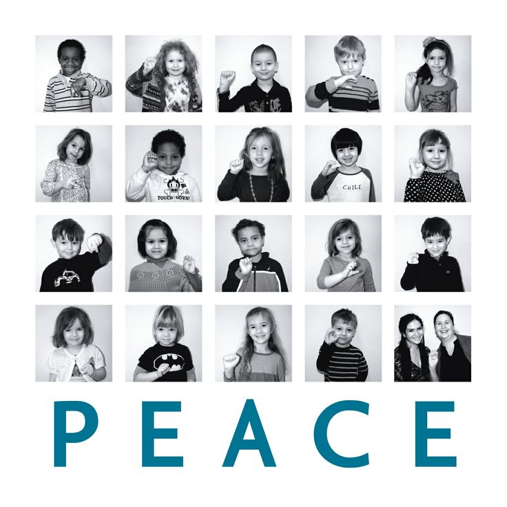 """All we are saying is give peace a chance"" Berkeley Carroll School auction project 2012 
