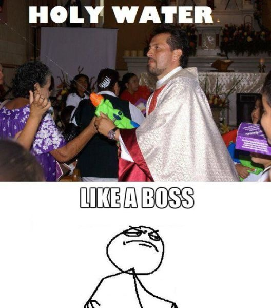 haha maybe I would actually start going to church if it was like this