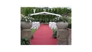 Wedding Ceremony in Sunken Garden