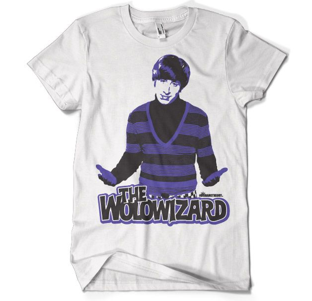 The Big Bang Theory - The Wolowizard T-Shirt