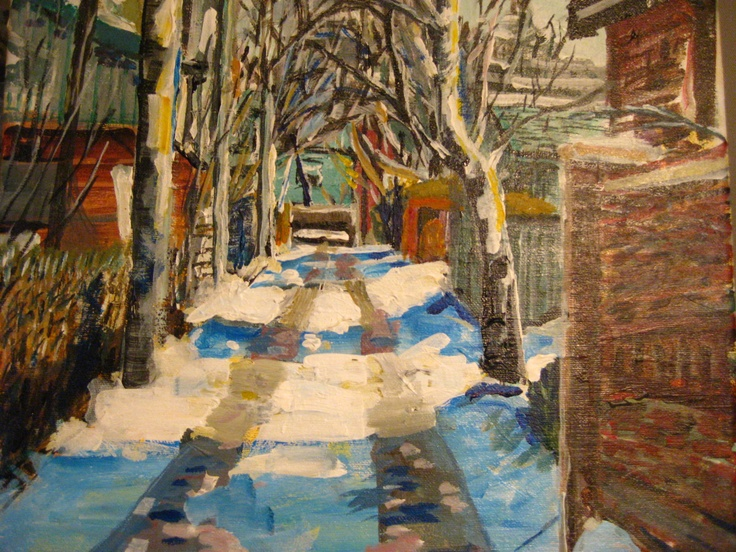 Alley off Locke Street in Hamilton, Ontario