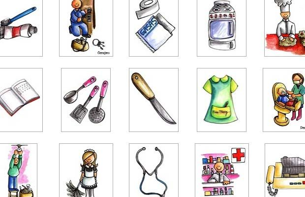 Libreta Para Niños Con 25 Dibujos Para Colorear: Más De 25 Ideas Increíbles Sobre Dibujos De Profesiones