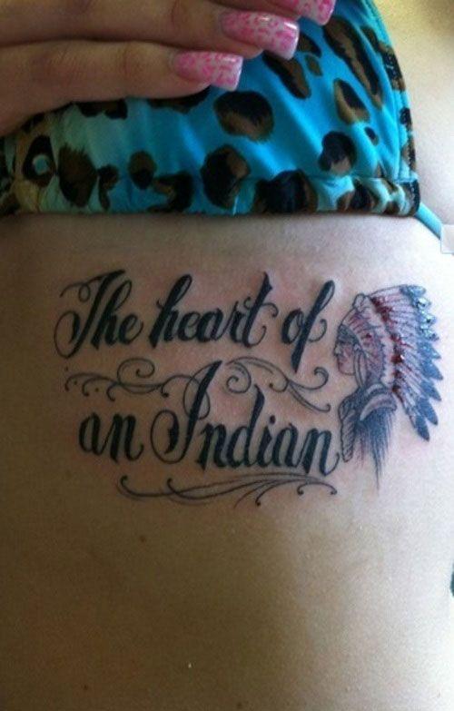 Chaz....I found a tattoo for you!  Native American tattoo...