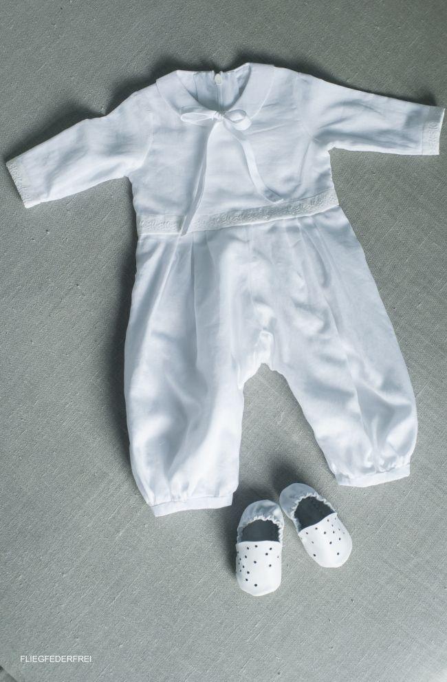 Baptism dress by http://fliegfederfrei.com/