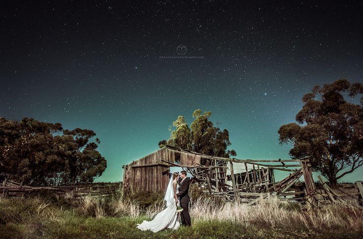 Western Australian Wheatbelt Wedding under the stars.
