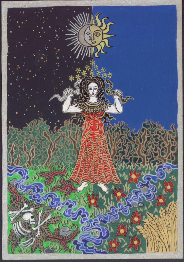 Uralkodónő, 2004, élet- halál asszony minőségben