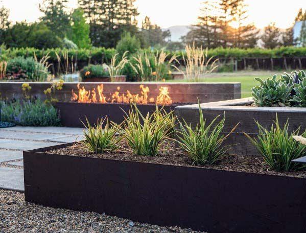 Top 60 Best Gravel Landscaping Ideas Pebble Designs Modern Landscape Design Home Landscaping Landscape Design