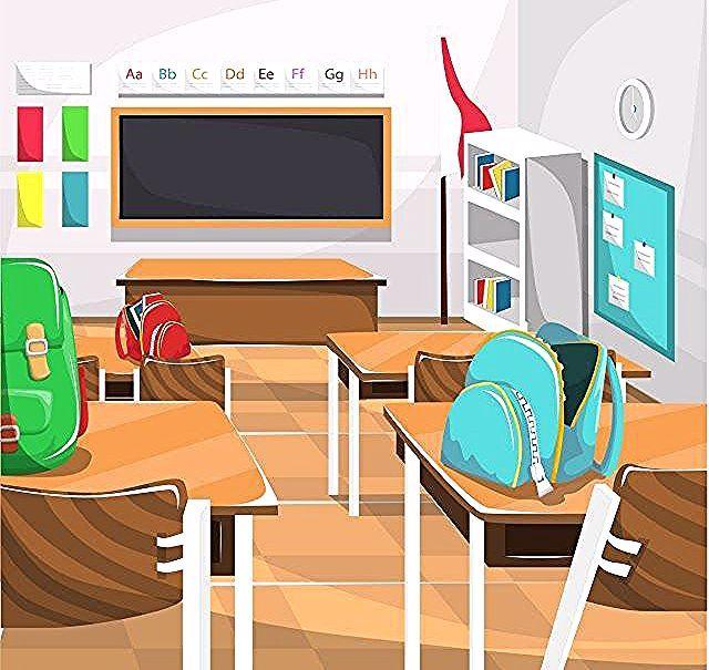 Foto Background Kelas Keren Paling Keren 30 Gambar Kartun Meja Sekolah Beg Rak Buku Coklat Meja Sekolah Dasar Kelas Denga Latest Interior Design Interior Design Projects Design Projects