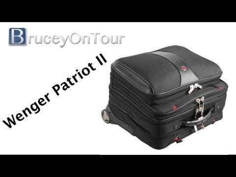 Wenger Patriot Rolling Case - YouTube