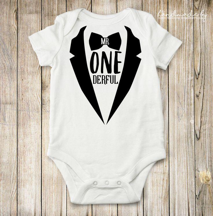 Mr ONEderful First Birthday Shirt Cute First Birthday