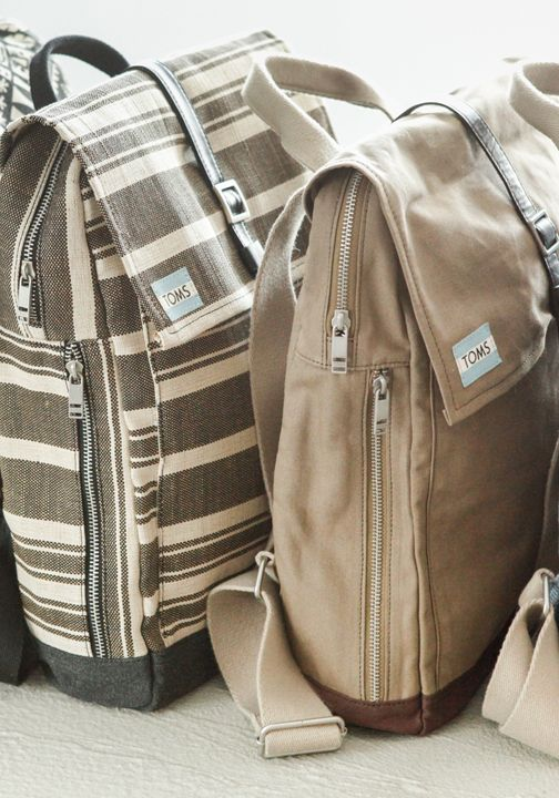 Whether used for travel, outdoor adventures or just everyday use, TOMS Backpacks are stylish essentials. With every bag you purchase, TOMS will help provide a safe birth for a mother and baby in need.