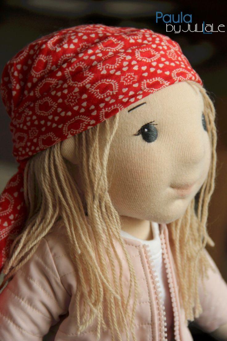 Waldorf doll, Handmade, Paula by Julilale