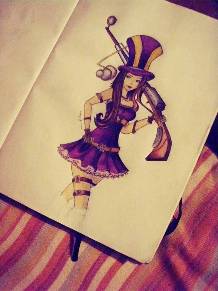 one of my fav champ on league of legends miss cait