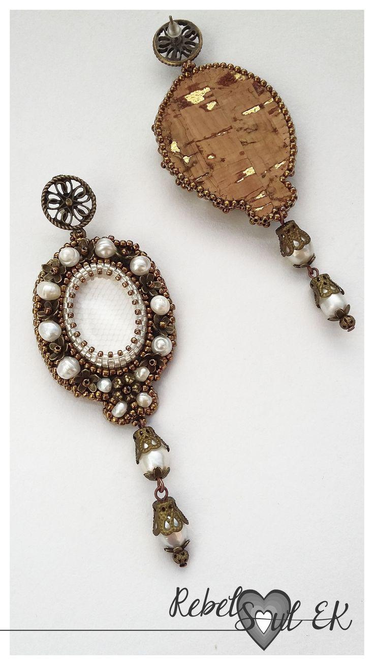 rebelsoulek earrings wedding jewlry handmade large size boho earrings natural perls beaded earrings https://www.etsy.com/listing/263347073