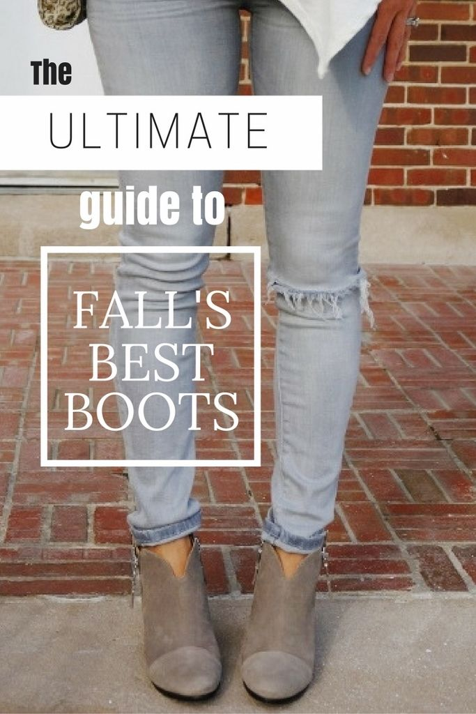 The ULTIMATE Guide To Fall's Best Boots 2017 | my kind of sweet | fall fashion | booties | over the knee | warm boots