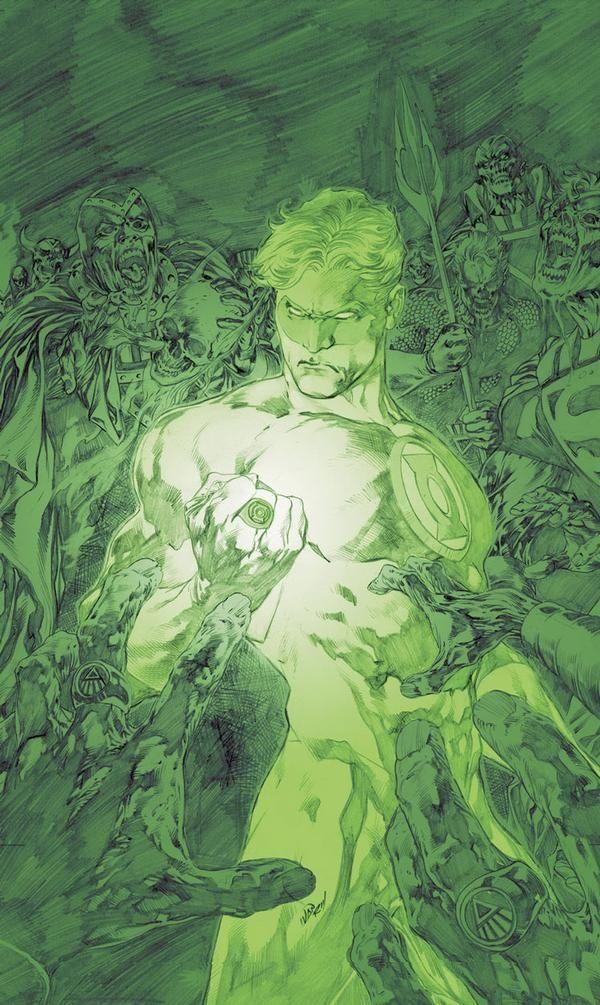 Green Lantern by Jim Lee