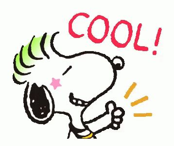 Snoopy Cool GIF - Tenor GIF Keyboard - Bring Personality To Your Conversations | Say more with Tenor