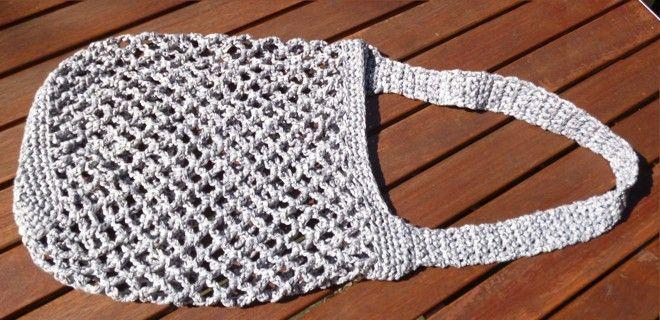 Crochet shopping net | knitting Linge – häkeln -…