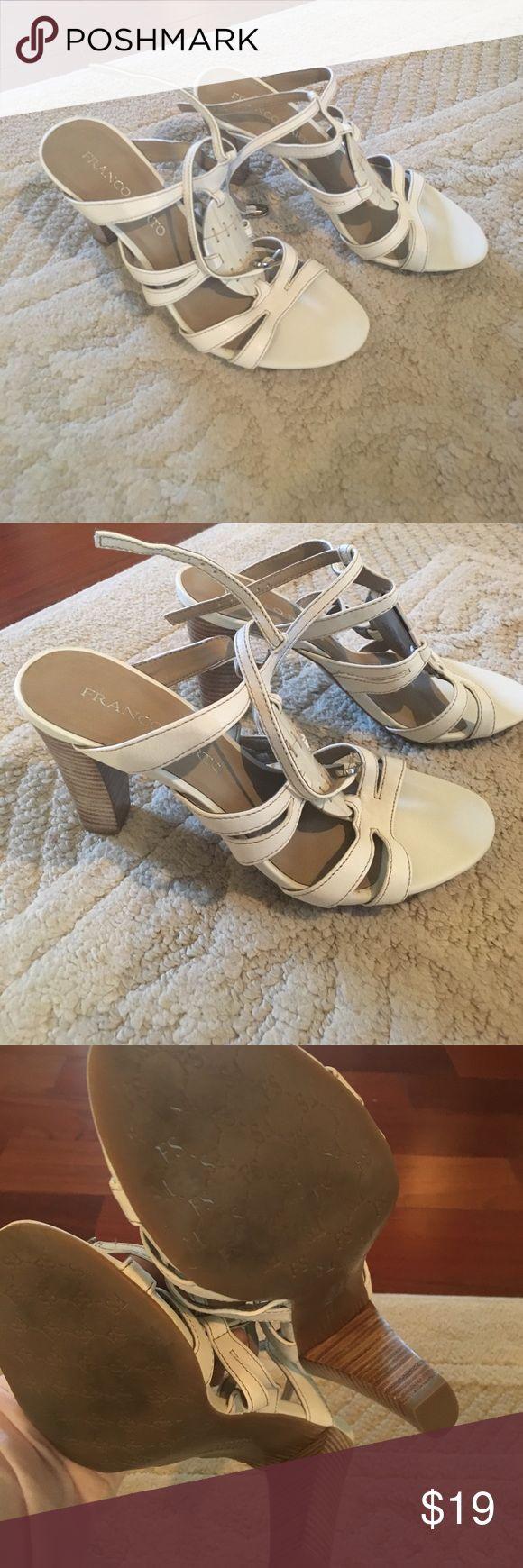 Franco Sarto block heel 7.5 Franco Sarto block heel 7.5 Franco Sarto Shoes Sandals