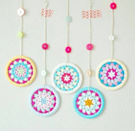 Decoración a crochet