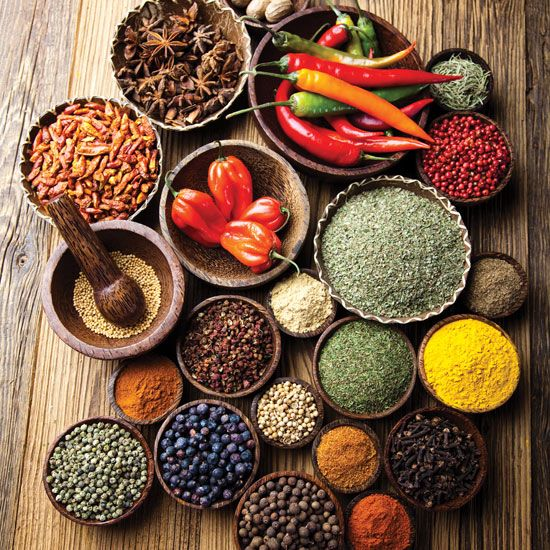 Healing Herbs and Spices in the Kitchen - Food and Recipes - Mother Earth Living