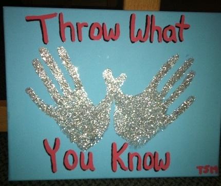 Pi Phi throw what you know craft #piphi #pibetaphi