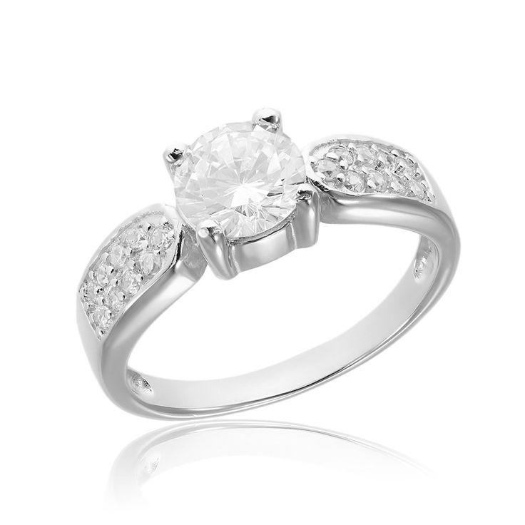 Inel de logodna argint Flower cu cristale laterale Cod TRSR011 Check more at https://www.corelle.ro/produse/bijuterii/inele-argint/inele-de-logodna-argint/inel-de-logodna-argint-flower-cu-cristale-laterale-cod-trsr011/