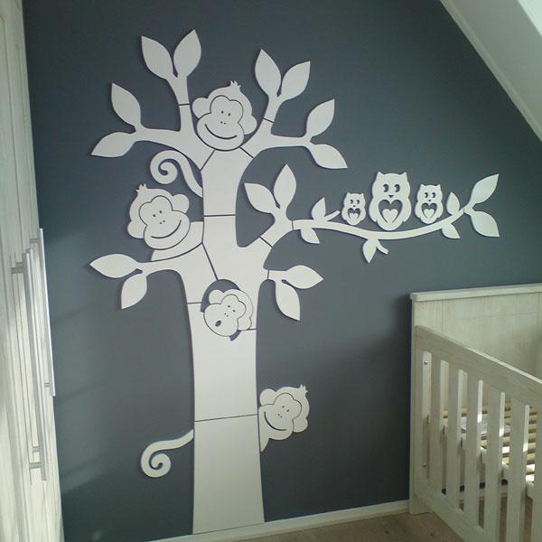 Freesstudio | onwijs leuke mdf bomen, die je zelf schildert of beplakt.