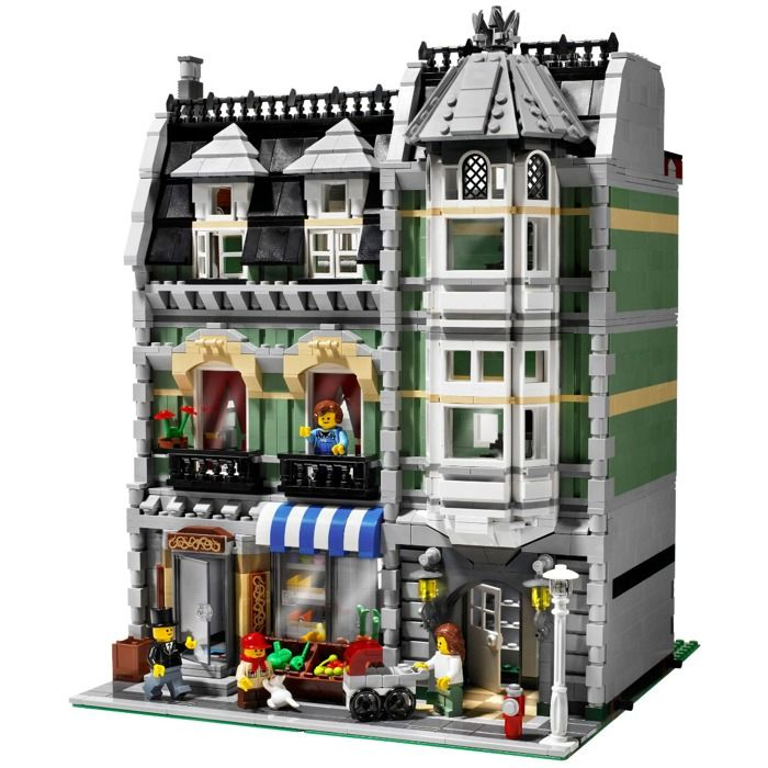 LEGO Green Grocer Set 10185 | Brick Owl - LEGO Marketplace