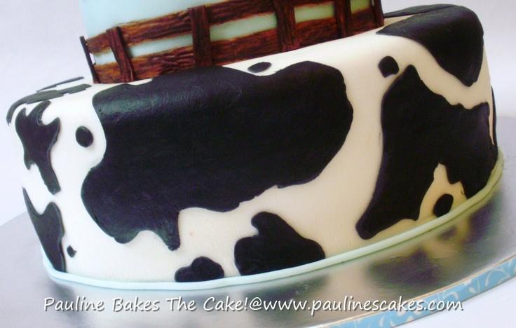 cow print cake - Google Search