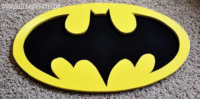 Batman Wall Art! – All Things Thrifty