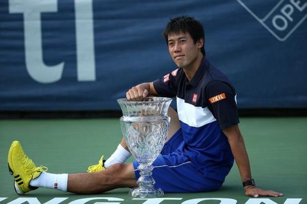 ATP Citi Open: Kei Nishikori Defeats John Isner, Winning His First Title In Washington D.C