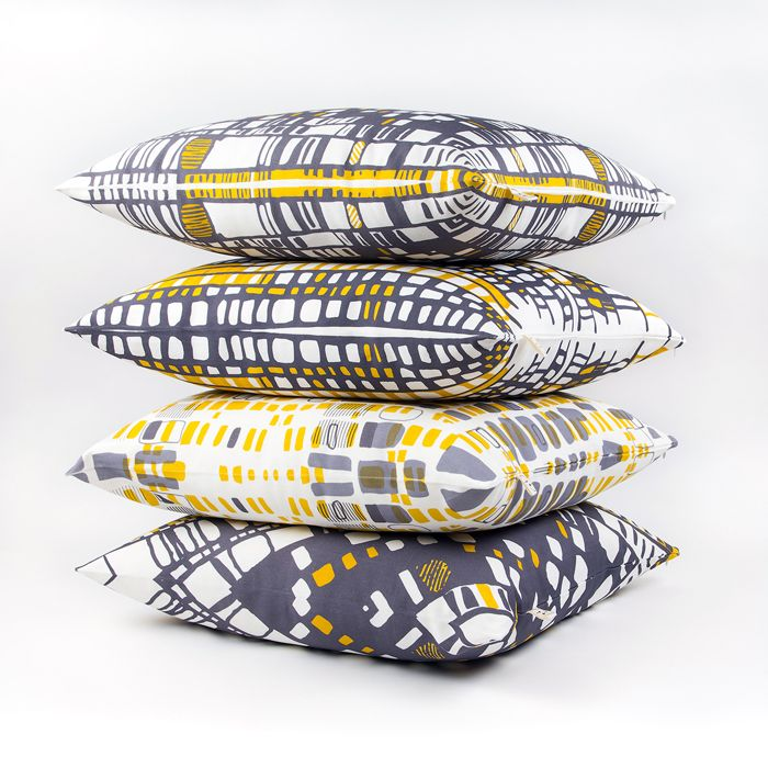 Halfdrop pillows