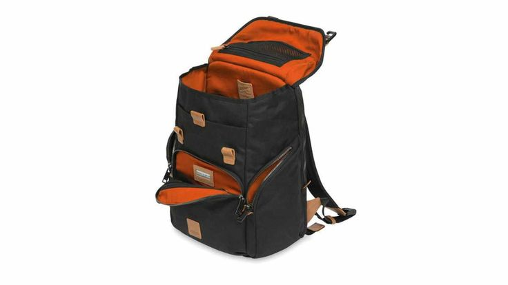 Knomo #LiveFree Backpack This rucksack is a gadget lover's dream, with a Qi wireless charging pocket, an RFID-blocking pocket, and compartments for your laptop, tablet, audio player and cables. There's Bluetooth tracking built-in, and it's waterproof, too.  £270, knomobags.com