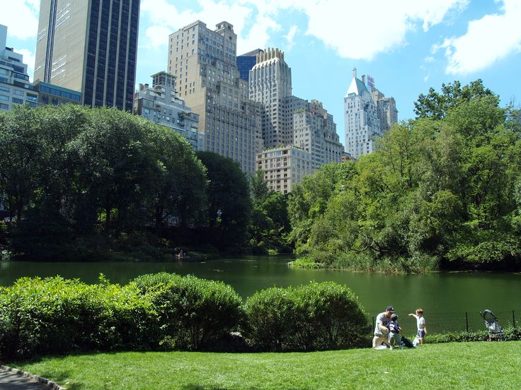 In Central Park, NYC with my hubby...