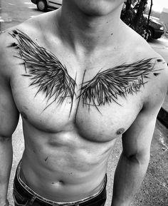 Tatto angel, ali tattoo