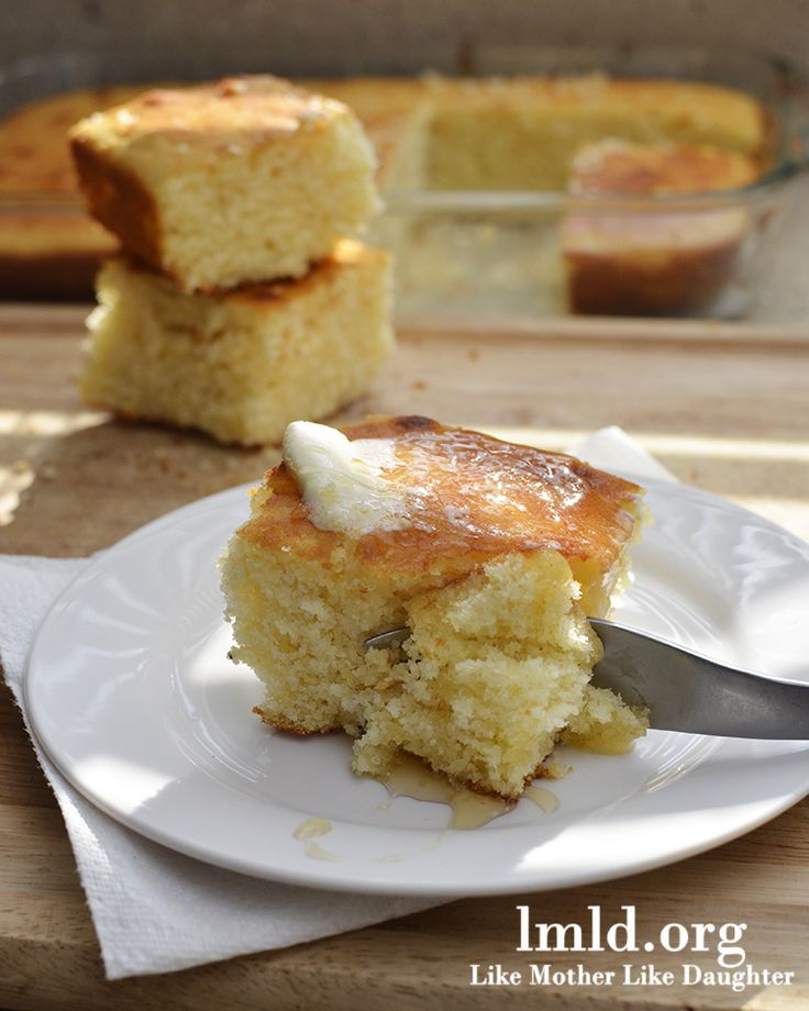The perfect homemade corn bread recipe #lmldfood