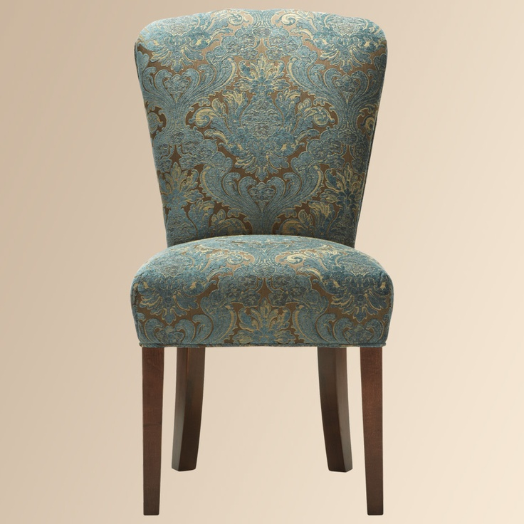 365 best teal silver and gold images on pinterest for Small teal chair