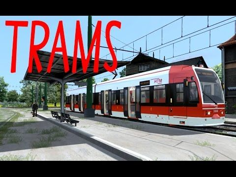 Train Simulator 2015, Trams: HTM, RET, GVB, Connexxion, (NL) - YouTube
