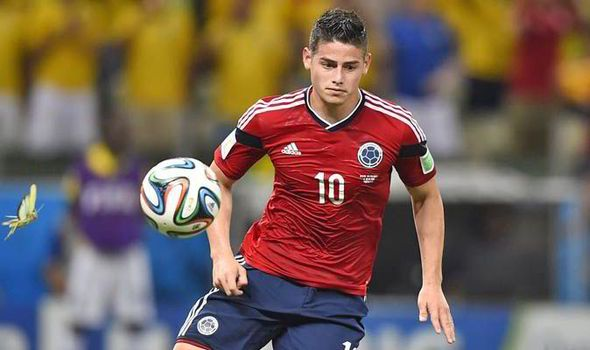World Cup star James Rodriguez