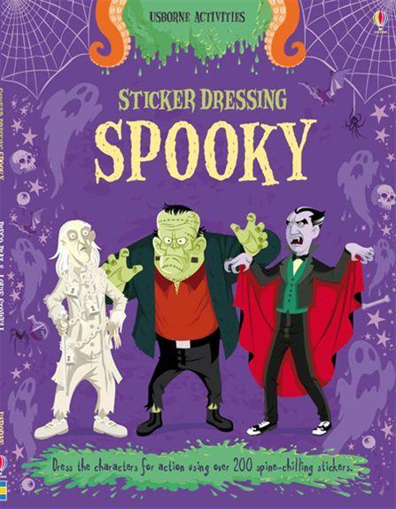 """Sticker Dressing: Spooky"" at Usborne Children's Books"